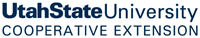 Utah state university extension logo