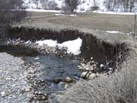 Before Streambank Restoration