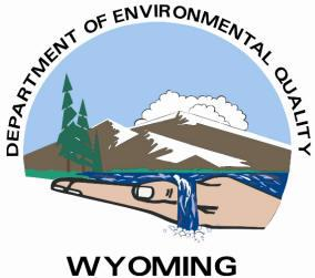 Wyoming department of enviornmental quality logo