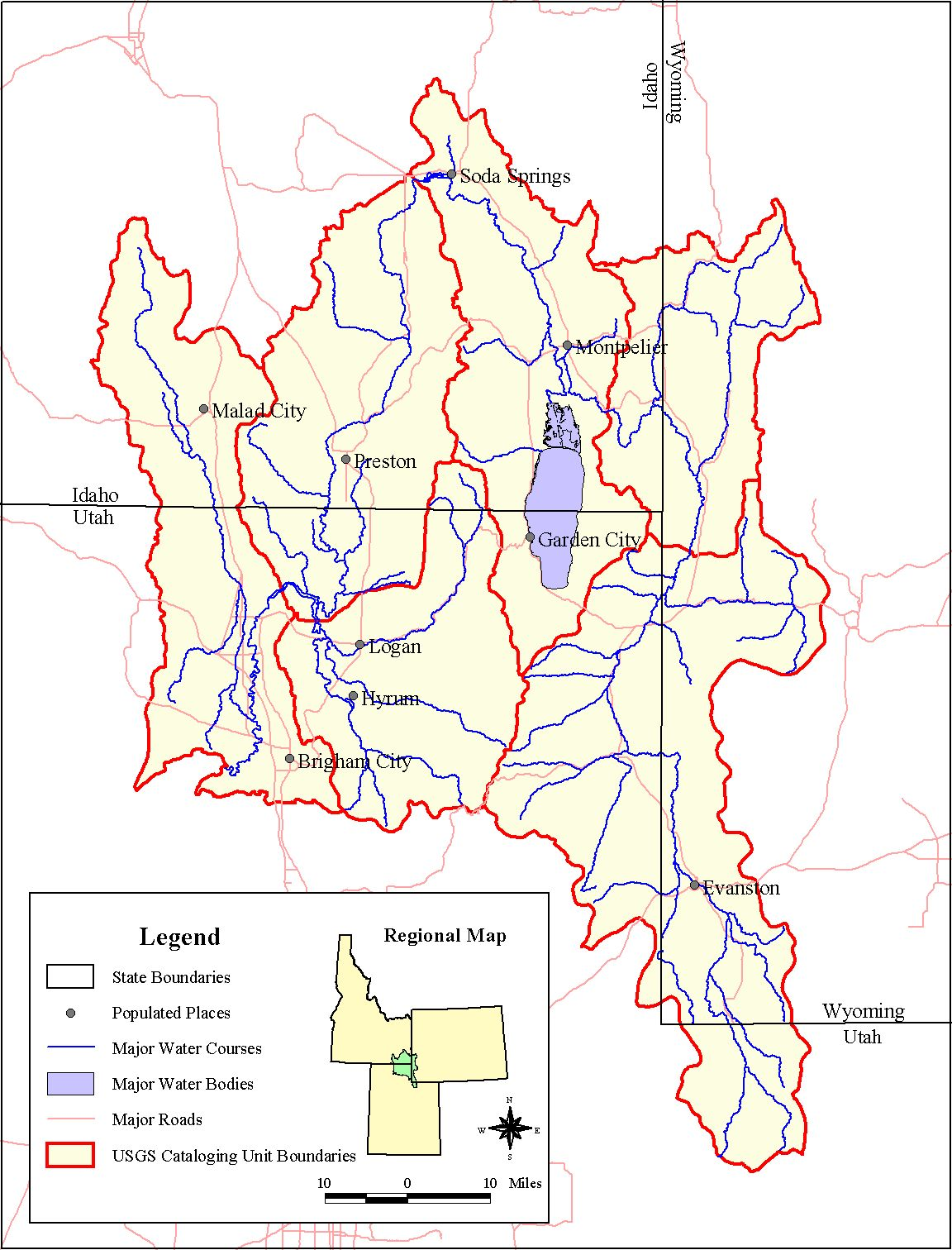 GIS & Mapping   Bear River Watershed Info